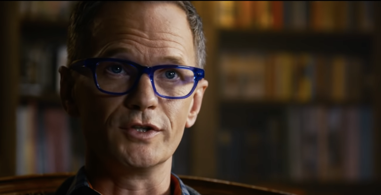 Neil Patrick Harris as a mysterious therapist in The Matrix Resurrections (Photo: Warner Bros./YouTube)