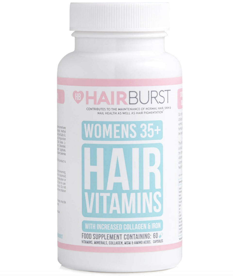 Hairburst Women's 35+ vitamins (60 capsules), S$61.50. PHOTO: Lookfantastic