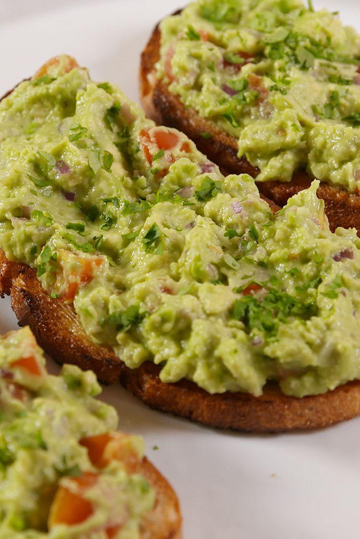 "<p>This ain't your average avocado toast.</p><p>Get the recipe from <a href=""https://www.delish.com/cooking/recipe-ideas/recipes/a50953/guacamole-toast-recipe/"" rel=""nofollow noopener"" target=""_blank"" data-ylk=""slk:Delish"" class=""link rapid-noclick-resp"">Delish</a>. </p>"