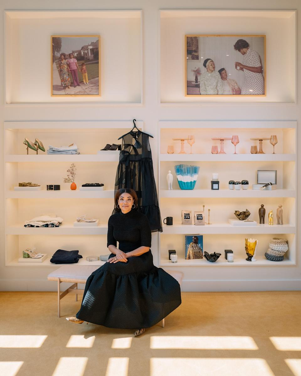 """Sherri McMullen,founder of the luxury retail store<a href=""""https://shopmcmullen.com/""""> McMullen</a>, saw here-commerce business grow 405% from 2019. (Photo: Courtesy of Sherri McMullen)"""