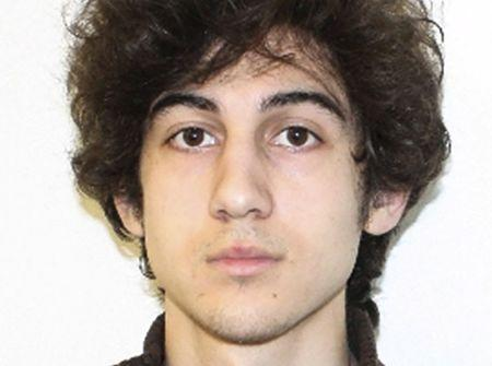 Dzhokhar Tsarnaev, suspect in the Boston Marathon explosion, is pictured in this undated FBI file handout photo. REUTERS/FBI/Handout via Reuters/Files