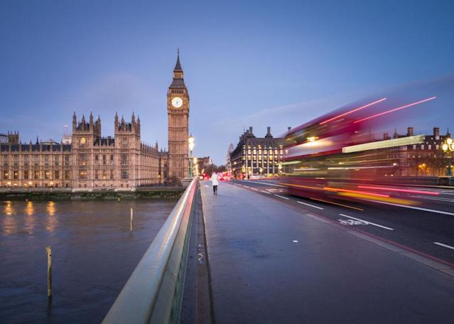 <p>No. 7: Big Ben<br>Location: London, U.K.<br>Tags: 2,561,617<br>(Photo by Matthew Cattell/Getty Images for Samsung Galaxy S8) </p>