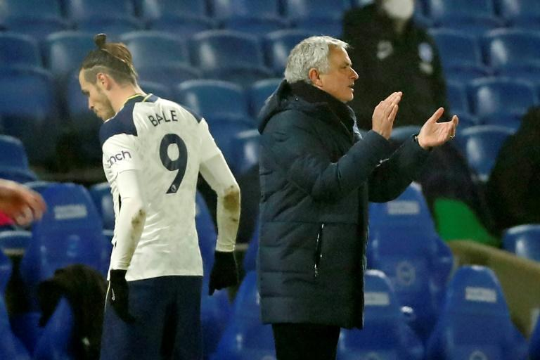 Gareth Bale (left) and Jose Mourinho are not seeing eye to eye after last week's Instagram post by the Welshman