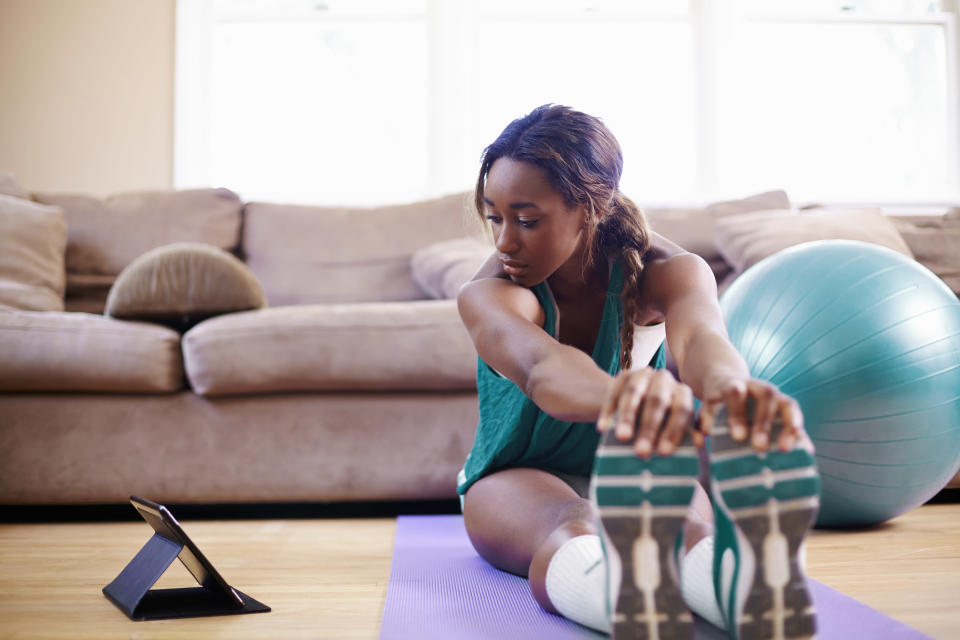 Getting exercise can help. (Photo: Getty Images)