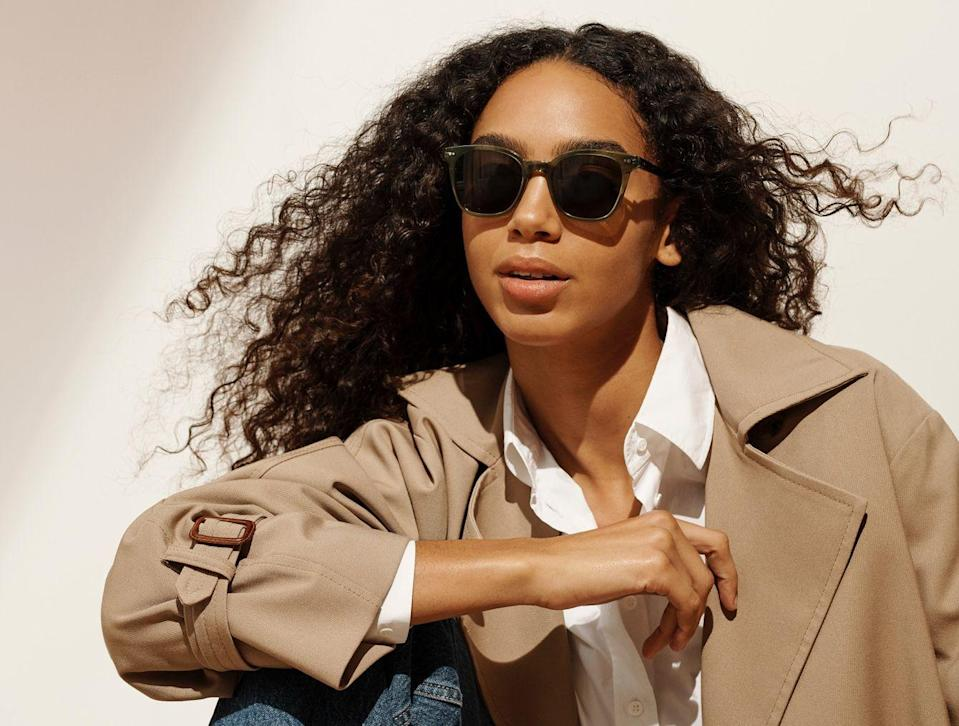 """<h2>Warby Parker Griffin Sunglasses</h2><br><strong>Why It's A Best Buy:</strong> If you weren't a sunglasses person before the pandemic, you are now — you've entered a vampiric state thanks to a lack of Vitamin D these past few months. Plus, if you're feeling like your outfit-assembling skills have gotten a little rusty, a pair of stylish shades can help you feel accessorized even if you're wearing the joggers you slept in when you venture outside. We love Warby Parker's classic-cool silhouettes for helping you nail any look.<br><br><strong>The Review: </strong>""""Warby Parker glasses are stylish, inexpensive, durable and exceptional in quality. The staff was helpful and friendly. Overall a great customer experience!"""" — Gamliel B., <a href=""""https://www.warbyparker.com/sunglasses/women/griffin/seaweed-crystal-with-cognac-tortoise"""" rel=""""nofollow noopener"""" target=""""_blank"""" data-ylk=""""slk:WarbyParker.com"""" class=""""link rapid-noclick-resp"""">WarbyParker.com</a> review<br><br><strong>Warby Parker</strong> Griffin Sunglasses, $, available at <a href=""""https://go.skimresources.com/?id=30283X879131&url=https%3A%2F%2Fwww.warbyparker.com%2Fsunglasses%2Fwomen%2Fgriffin%2Fseaweed-crystal-with-cognac-tortoise"""" rel=""""nofollow noopener"""" target=""""_blank"""" data-ylk=""""slk:Warby Parker"""" class=""""link rapid-noclick-resp"""">Warby Parker</a>"""