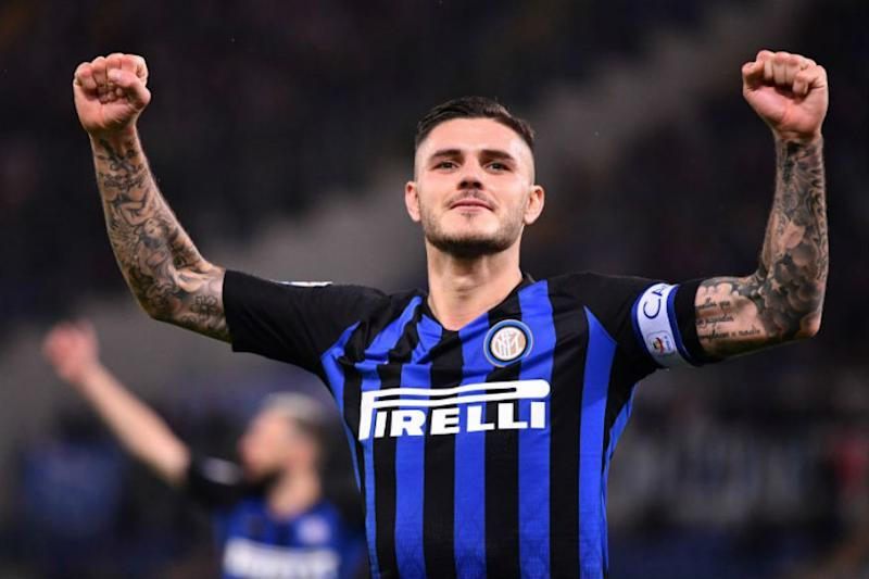 Mauro Icardi Double Lifts Inter Milan to Second in Serie A