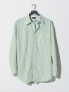 """<p><strong>One DNA</strong></p><p>onedna.earth</p><p><strong>$129.00</strong></p><p><a href=""""https://www.onedna.earth/collections/new-arrivals/products/resort-shirt-green-stripe"""" rel=""""nofollow noopener"""" target=""""_blank"""" data-ylk=""""slk:Shop Now"""" class=""""link rapid-noclick-resp"""">Shop Now</a></p><p>One DNA makes its gender-neutral button-down shirts in small batches. Which is to say: If the Resort Shirt doesn't land in your cart now, it could be hard to take home later.</p>"""
