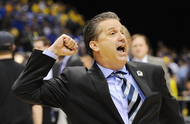 That bed John Calipari made for himself is looking pretty comfortable these days