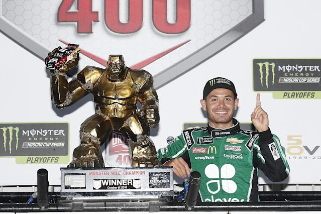 Larson ends two-year winless streak