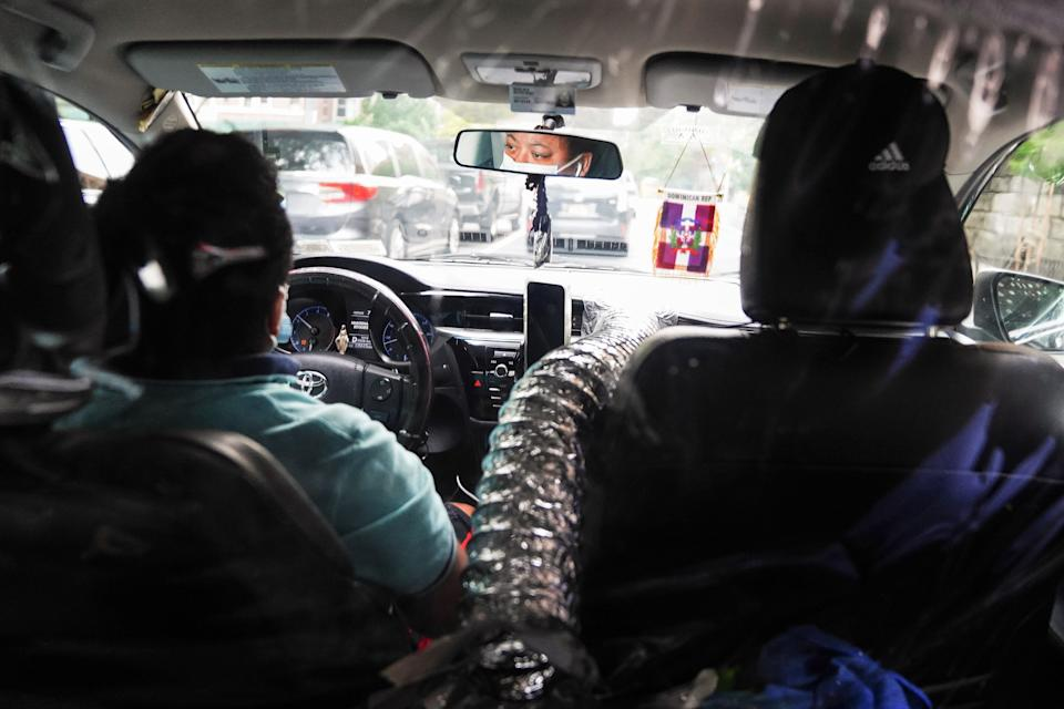 As travel restrictions ease and the ride-hailing market recovers, a survey found that nearly two-thirds of the capital's ride hailing drivers are in debt with 83 per cent suffering increased anxiety and stress (REUTERS)