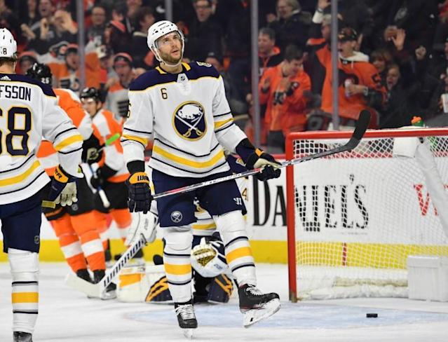 NHL: Buffalo Sabres at Philadelphia Flyers