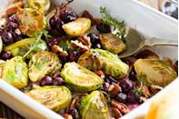 <p>Earthy vegetables like Brussels sprouts, parsnips, and turnips tend to have a bitter taste to them that can linger, even after roasting for a while. A sweet glaze is the perfect way to balance that out. Try drizzling cooked Brussels or root vegetables with a balsamic glaze, maple syrup, or honey to add a touch of sweetness that will change your whole dish for the better. </p>