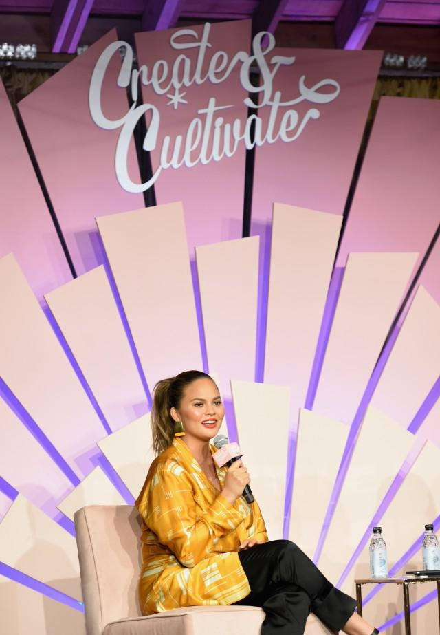 Chrissy Teigen at Create & Cultivate Los Angeles conference