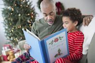 """<p>After months and months of waiting, it's the most magical time of the year once again—Christmas! Everyone is enchanted by hanging the stockings and decorating the Christmas tree, picking out presents and donning the home with garlands, twinkly lights, and bows. Some one of our favorite <a href=""""https://www.countryliving.com/diy-crafts/g2357/gifts-for-grandma/"""" rel=""""nofollow noopener"""" target=""""_blank"""" data-ylk=""""slk:fun Christmas activities"""" class=""""link rapid-noclick-resp"""">fun Christmas activities</a> to do with our families are to watch a <a href=""""https://www.countryliving.com/life/entertainment/news/a45454/christmas-tv-movies-guide/"""" rel=""""nofollow noopener"""" target=""""_blank"""" data-ylk=""""slk:Christmas movie for kids"""" class=""""link rapid-noclick-resp"""">Christmas movie for kids</a> or play a <a href=""""https://www.countryliving.com/entertaining/g1198/christmas-kids-table-ideas/"""" rel=""""nofollow noopener"""" target=""""_blank"""" data-ylk=""""slk:Christmas game for kids"""" class=""""link rapid-noclick-resp"""">Christmas game for kids</a>, but even more special is the opportunity to cuddle up by the fire and read a favorite Christmas book (or two) with our kids. </p><p>The beautiful illustrations and sweet stories will leave you and your children feeling full of the holiday spirit. Babies and toddlers will enjoy some of the hard-backed picture books, while those learning how to read can practice on beloved tales like <em>The Night Before Christmas </em>or <em>The Polar Express</em>. There are a few interactive options on the list, too, so all ages to get involved if they're interested. No matter which option you choose, we highly suggest holding on to these year after year. You may find that displaying them and reading together as a family will become some of the most treasured <a href=""""https://www.countryliving.com/life/g3868/christmas-traditions/"""" rel=""""nofollow noopener"""" target=""""_blank"""" data-ylk=""""slk:Christmas traditions"""" class=""""link rapid-noclick-resp"""">Christmas traditions</a> you hold dear. Also"""