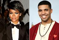 "<p>Flash forward four years, when Drake finally landed his first kiss. At least, the first kiss <i>we</i> all knew about. <a href=""http://pagesix.com/2009/05/20/%20rihanna-takes-a-strike/"" rel=""nofollow noopener"" target=""_blank"" data-ylk=""slk:Page Six"" class=""link rapid-noclick-resp""><i>Page Six</i></a> ran an item about the Canadian crooner and Barbadian beauty locking lips at Lucky Strike in NYC. ""She was drinking whiskey and apple juice and making out with him all night,"" said a spy. ""They were really cute together."" (Photos: Getty Images/FilmMagic) </p>"