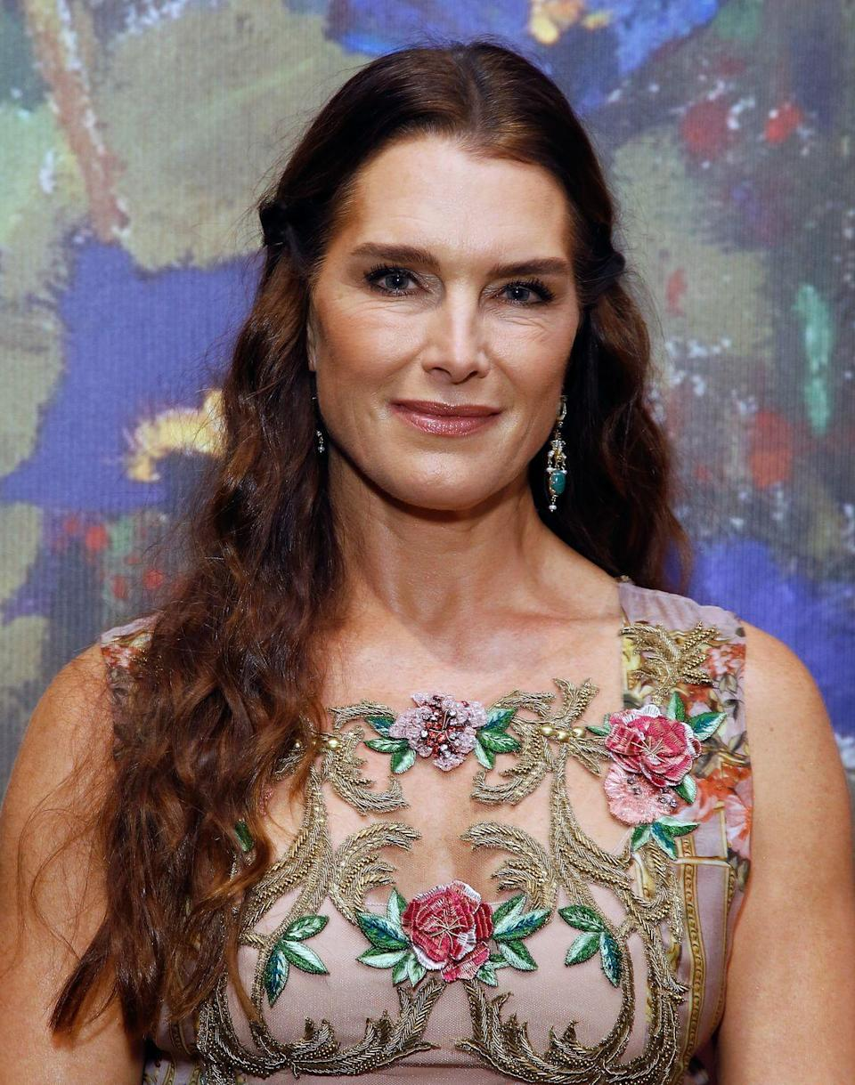 """<p>The model told the <em><a href=""""https://www.usmagazine.com/celebrity-body/news/brooke-shields-ill-look-like-the-joker-if-i-get-more-plastic-surgery-201053/"""" rel=""""nofollow noopener"""" target=""""_blank"""" data-ylk=""""slk:Ladies' Home Journal"""" class=""""link rapid-noclick-resp"""">Ladies' Home Journal</a> </em>back in 2010 that she tried Botox but is fearful to do more. """"I want laser treatment because I'm not a fan of my wrinkles. But I have to find someone with a light touch. I'm scared I'll end up looking like the Joker,"""" she said.</p>"""