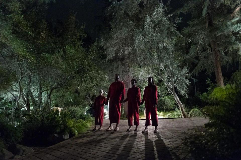 'Them' feels suspiciously reminiscent of Jordan Peele horror film 'Us' (pictured)Universal Pictures