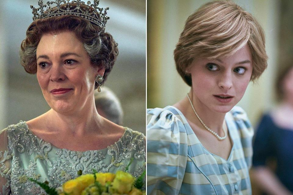 Emma Corrin and Olivia Coleman—The Crown