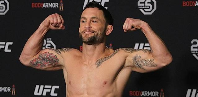 Frankie Edgar UFC 222 weigh-in