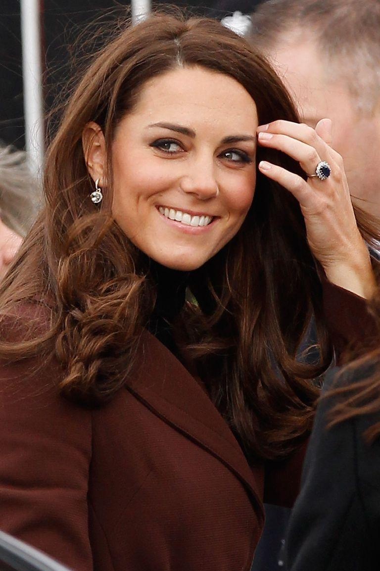 "<p>Almost 30 years after it was gifted to Princess Diana, Prince William proposed to Kate Middleton with his late mother's engagement ring. The same sapphire and diamond cluster ring that sparked a phenomena in the 1980s caused a resurgence of engagement rings featuring colored gems. </p><p><strong>RELATED</strong>: <a href=""https://www.goodhousekeeping.com/life/news/a46559/kate-middleton-engagement-ring/"" rel=""nofollow noopener"" target=""_blank"" data-ylk=""slk:Kate Middleton's Engagement Ring Has a Crazy Story Behind It"" class=""link rapid-noclick-resp"">Kate Middleton's Engagement Ring Has a Crazy Story Behind It</a></p>"