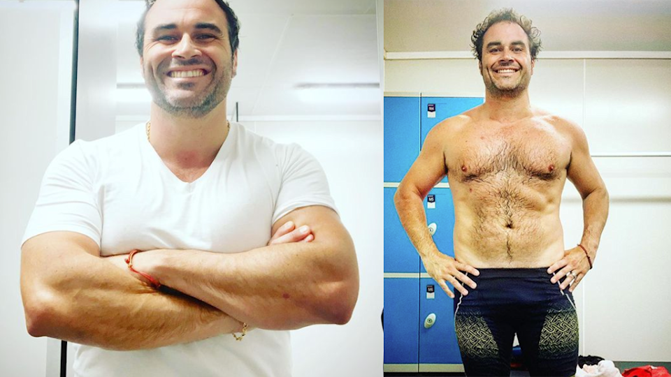 Miguel Maestre weight loss photos