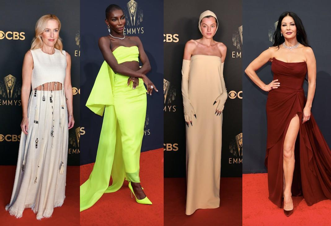 It was a strong red carpet at last night's Emmy awards. (Getty Images)
