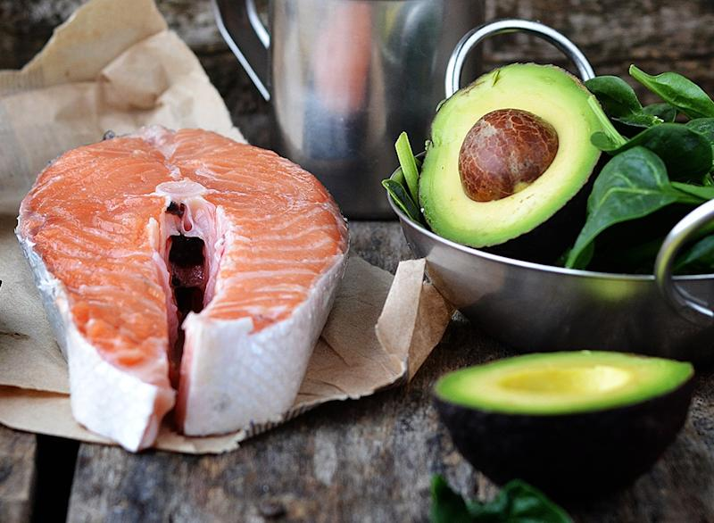 how to lose body fat - salmon