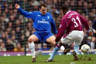 <p>Chelsea's first ever Spanish signing, he played in the first ever all-foreign XI to take to the field in the Premier League for the Blues as Southampton in 1999. </p>