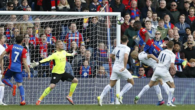 Sam Allardyce was delighted with Crystal Palace's draw with Leicester City, while opposite number Craig Shakespeare was less than impressed.