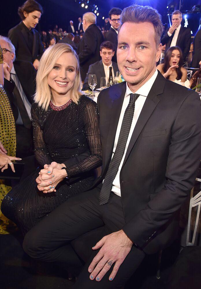 Kristen Bell and Dax Shepard | Kevin Mazur/Getty