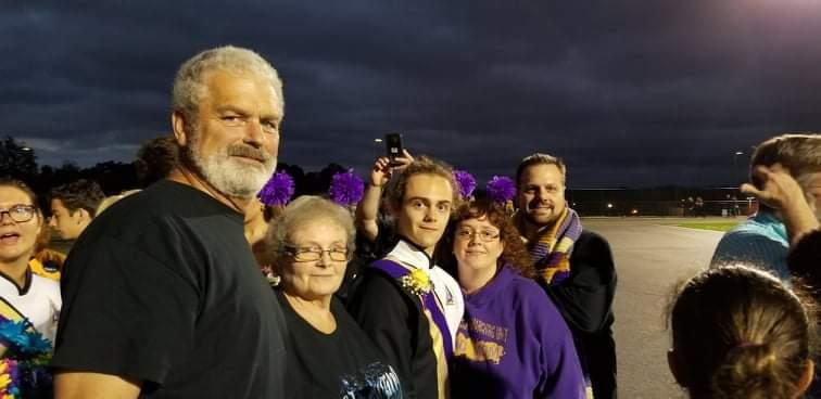 Robert and Charlotte Vaughan, left, with their grandson, Vaughan Mauer (middle) and parents Denise and Thomas Mauer (right) at Calvacade of Bands in Hershey, Pa.