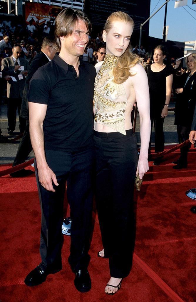 Image result for nicole kidman and tom cruise break up
