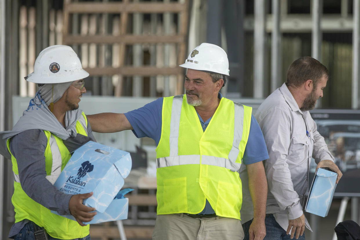 America needs more construction workers. (Photo: Kathie Tam/AP Images for Kalahari Resorts and Conventions)
