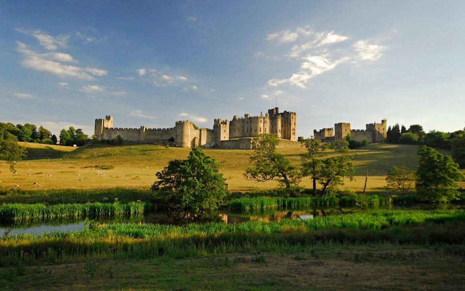 Fans of Harry Potter will recognise parts of Alnwick Castle as Hogwarts - © Darren Turner