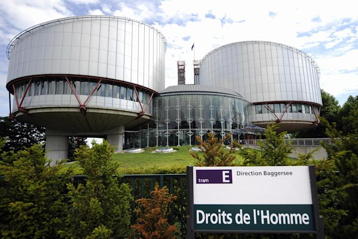 The European Court of Human Rights in the French eastern city of Strasbourg is the highest court in charge of ensuring the fundamental rights of 800 million European citizens, August 1, 2010 (AFP Photo/Johanna Leguerre)