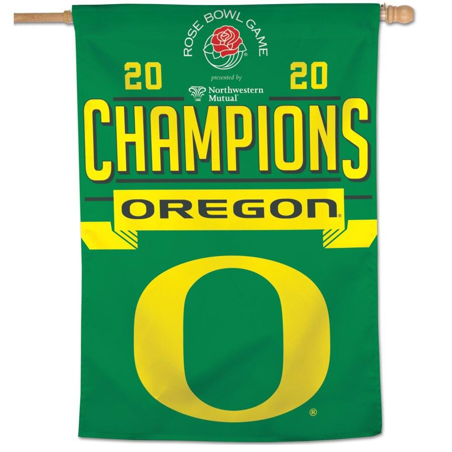 Rose Bowl Oregon champion banner