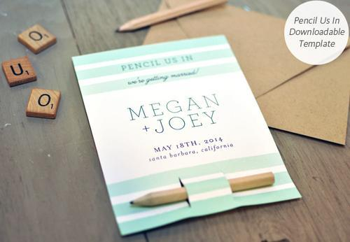 For Brides On A Budget DIY Save The Date Templates - Diy save the dates templates