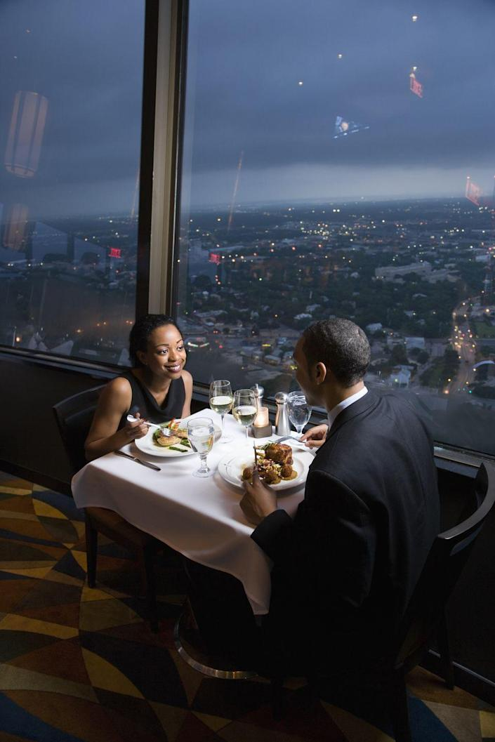 """<p><strong>Memphis, Tennessee</strong></p><p>While there's a lot happening on the main floor, we recommend venturing to the balcony level for a romantic night with your special someone. <strong><a href=""""http://www.flightmemphis.com/"""" rel=""""nofollow noopener"""" target=""""_blank"""" data-ylk=""""slk:Flight"""" class=""""link rapid-noclick-resp"""">Flight</a></strong> overlooks Main Street, making the view <em>almost</em> as great as your company. </p>"""