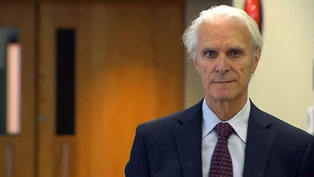 Retired Quebec Court of Appeal judge Jacques Delisle, now 86, was sentenced to life in prison after he was found guilty of murdering his wife in 2012. In April, however, the federal justice minister ordered a new trial, saying a miscarriage of justice may have occurred. (Radio-Canada - image credit)