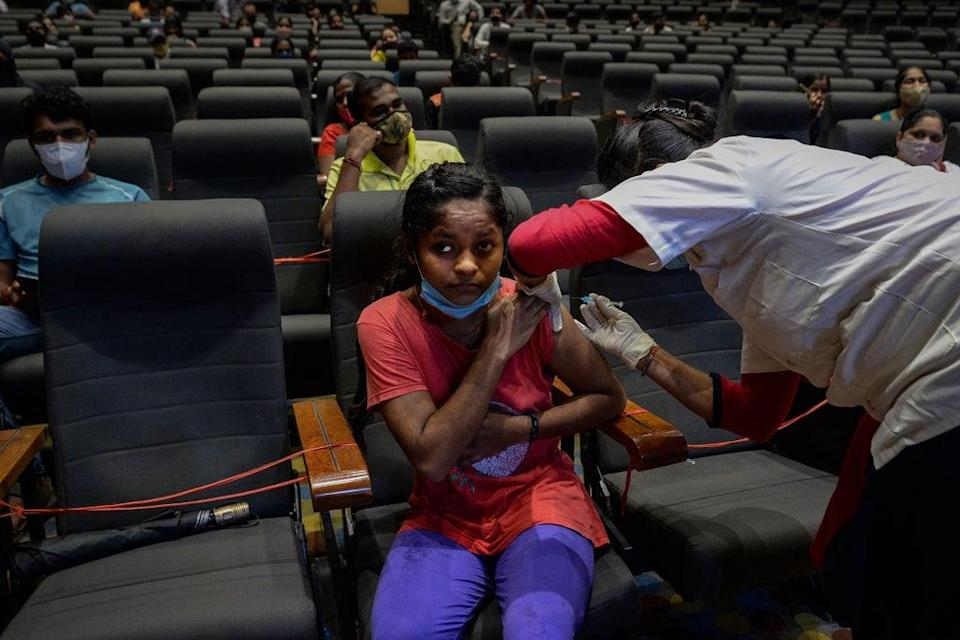 File image: India has approved just one drugmaker - Zydus Cadila - to be used in adults and children aged 12 years and above  (Getty Images)