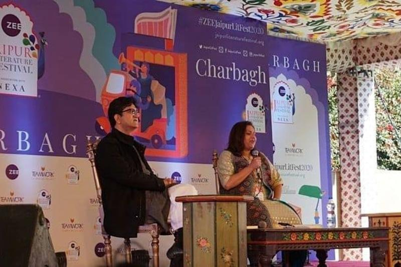 Jaipur Literature Festival 2020 Kicks Off with Power Packed Sessions
