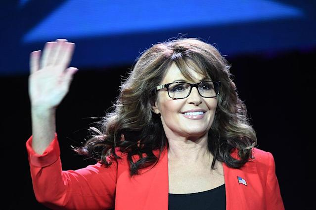 Former GOP vice presidential candidate Sarah Palin in Denver in 2016. (Photo: RJ Sangosti/the Denver Post)