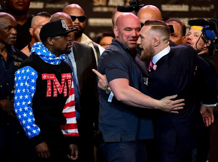 White has admitted that Mayweather is the A-side (Getty)