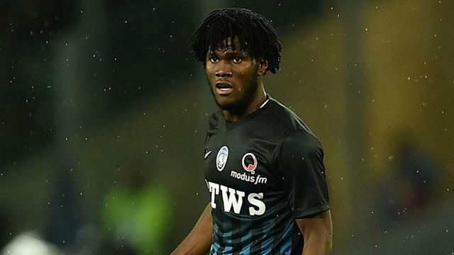Franck Kessie's dream is to join Manchester United, but the Atalanta player will be staying in Serie A if Roma have their way.