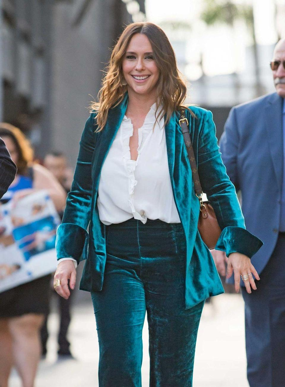 <p>At just 10 years old, Jennifer Love Hewitt moved to L.A. to pursue a music career, <em>not</em> an acting one. Things change, mmkay?! Her debut album, <em>Love Songs</em>, was released exclusively in Japan. Of her four studio albums, <em>BareNaked</em>, released in 2002, was the lucky one to break into the charts. </p>