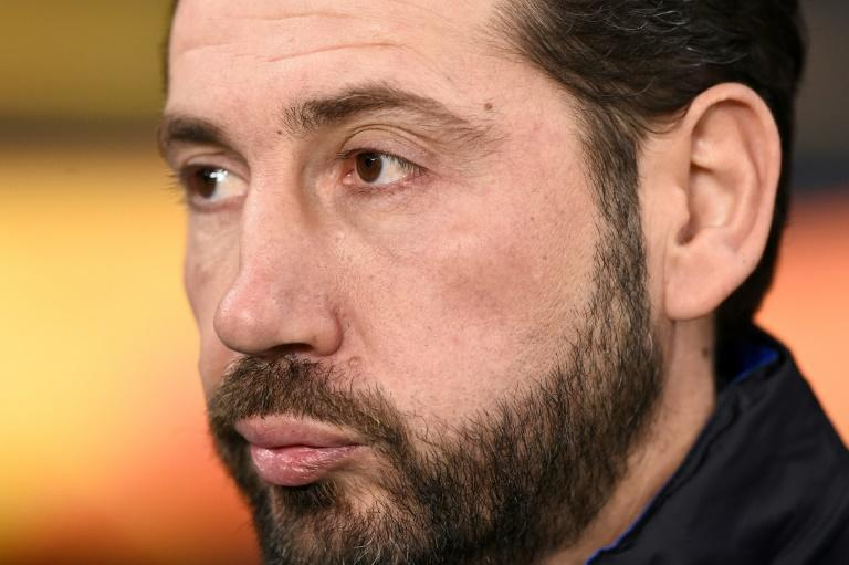 Spanish coach Pablo Machin released a statement on Twitter saying he would not be coming to China (AFP Photo/Josep LAGO)