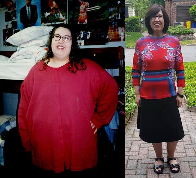 Esther Hollander now helps others achieve their weight-loss goals.