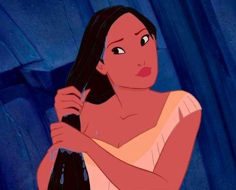 Even Pocahontas is without them. Photo: Disney