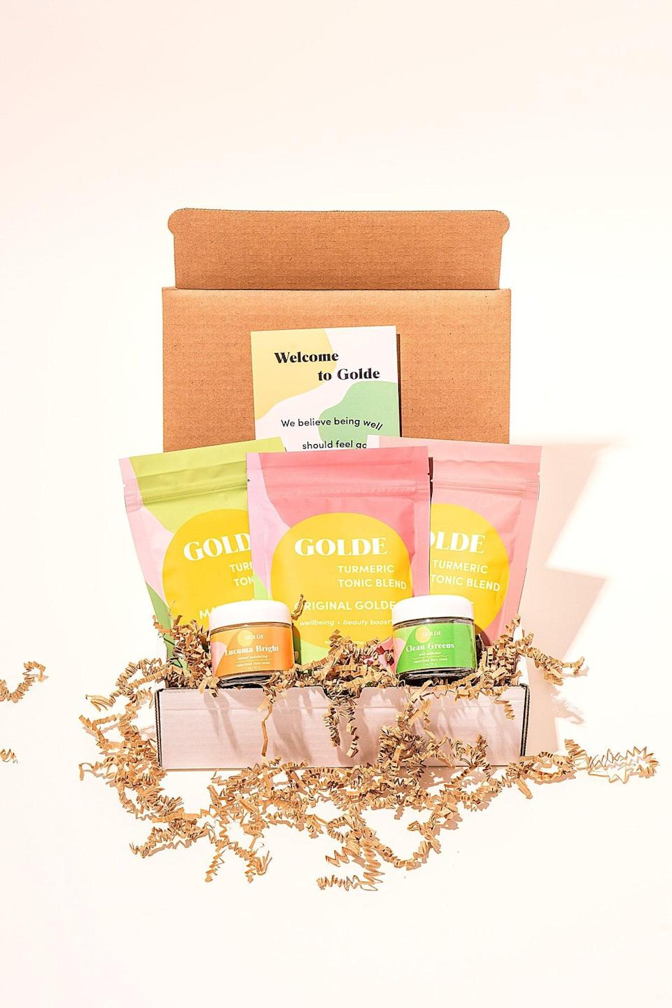<p>Indulge their self-care routine with this <span>Beauty & Wellness Kit</span> ($150).</p>