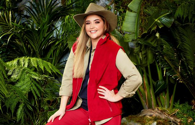 Jacqueline Jossa wants to show her true personality in the jungle (Credit: ITV)
